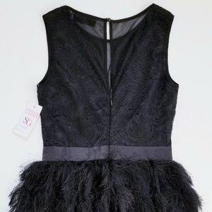 Lipstick London Dresses - Lipstick London COCO FRINGED MINI DRESS